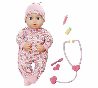 Zapf Creation Baby Annabell Milly Feels Better Interactive Doll