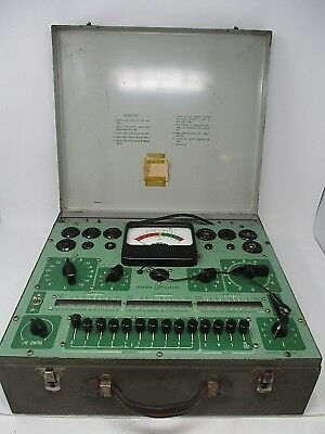 Vintage Sylvania Electric Tube Tester