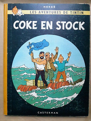 Tintin, Coke en stock. ed.1958/B25_BE++