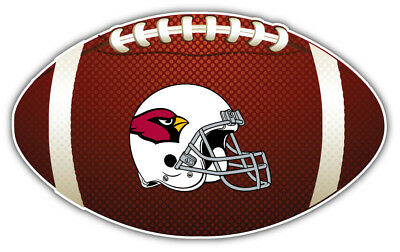 7957dc55 ARIZONA CARDINALS HELMET NFL Logo Ball Bumper Sticker Decal-3'', 5'', 6''  or 8''