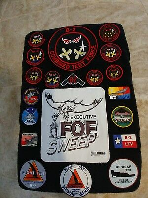 Usaf B-2 Bomber Patch Collection