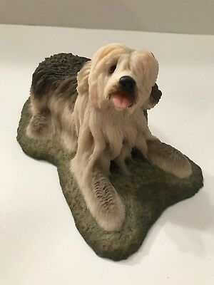 Old English Sheepdog Figurine Made in Spain *EUC*