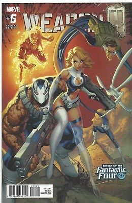 Weapon H #6 J Scott Campbell Variant First Print 2018