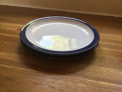 Denby Imperial Blue - Tea Plates x 2