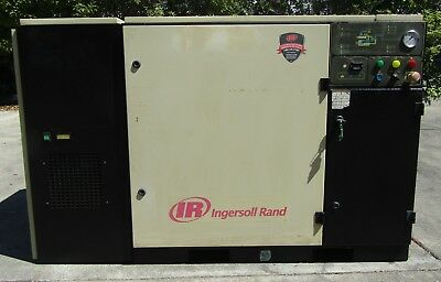 Ingersoll Rand 30 HP Rotary Screw Air Compressor UP6-30-125