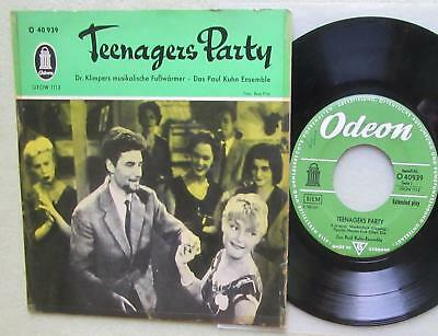 """PAUL KUHN ENSEMBLE & Dr. KLIMPERS MUSIKALISCHE..., Teenagers Party, Rare 7"""" EP"""