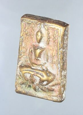 """Rare Coins!!!""""Old Phra Somdej Yantra"""" Genuine,Thai Amulet,Luck.Protection."""