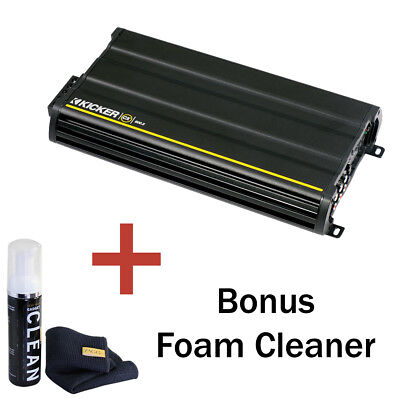 Kicker 12CXA600.5 CX Series 5-channel Car Amplifier with Bonus Foam Cleaner