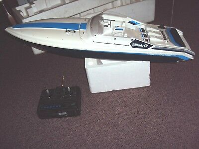 Traxxas Rc Villain Iv Chaparral Duel Twin Motors Rc Motor Boat With Radio