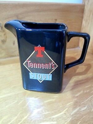 Brewerania Tennent's Stout Advertising Pub Whisky Water Jug (Nice Example)