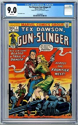Tex Dawson Gun-Slinger #1 CGC 9.0 Only Existing DOUBLE Cover!