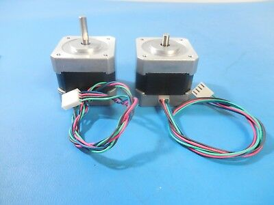 Vexta PK244-02AA 2-Phase 1.8° DC 0.8A 7.5Ω Stepping Motor Lot of 2