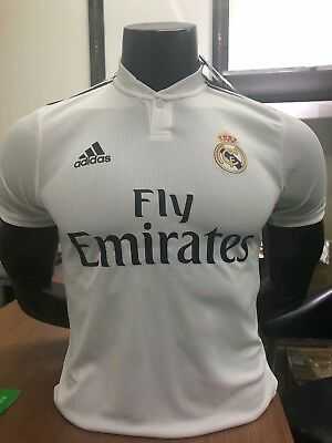 Real Madrid Home Shirt 18/19 (Player Version) FREE P+P Top Quality