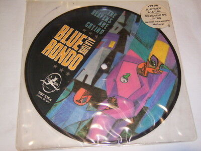 "7"" Picture - Blue Rondo Heavens are crying - UK 1982 # 2364"