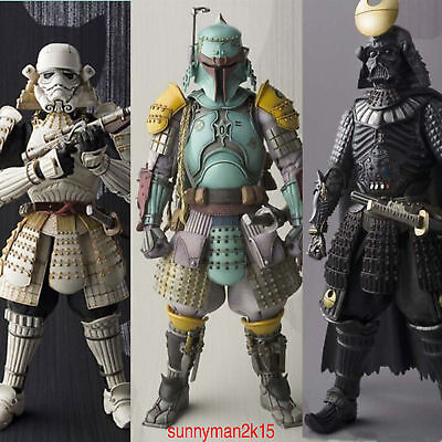 2017 HOT Star Wars Stormtrooper Darth Vader Boba Fett Samurai Movie Realization