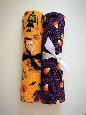 """34 Halloween Fabric pre cut Layer Cake 10 """" squares 100% cotton fabric quilt"""