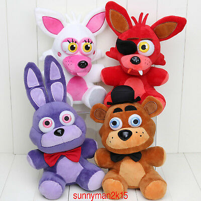 """Hot Five Nights at Freddy's 4 FNAF Horror Game Plush Dolls Kids Plushie Toys 7""""A"""