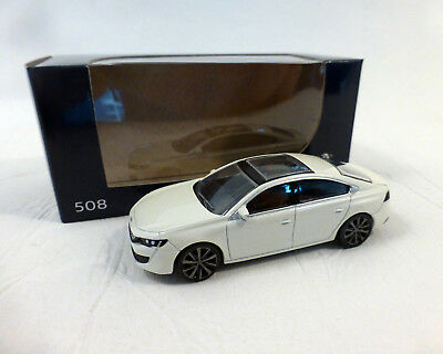 Peugeot 508 (2018), weiss, NOREV, 1:64