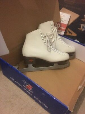Size 8 Riedell Boots/Blades, Ice/Figure Skating Only Worn 3 Times