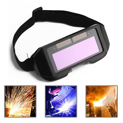 Auto Solar Darkening Lcd Welding Glasses  Mask Helmet Arc Eye Protection Uk