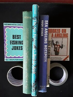 Vintage fishing books bundle,Some First editions