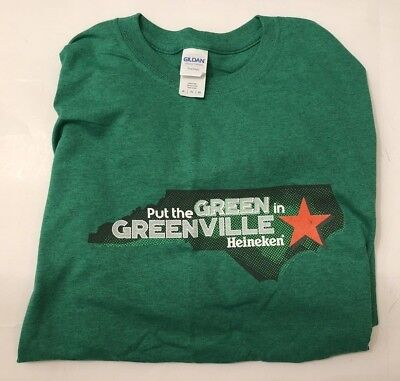 Heineken St Patty's Day T-Shirt Size XL LIMITED PRODUCTION/NORTH CAROLINA