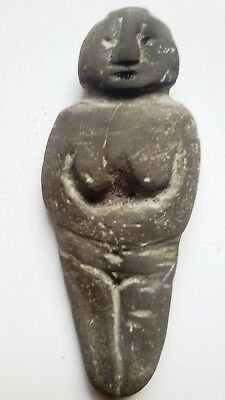 Museum Quality Neolithic Fertility Idol Goddess Statue,  Asia Minor circa 5000BC
