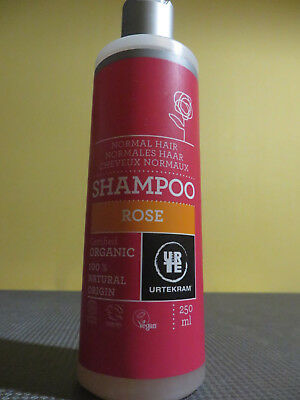 Urtekram / Shampooing A La Rose / 100% Origine Naturelle / 250Ml L69