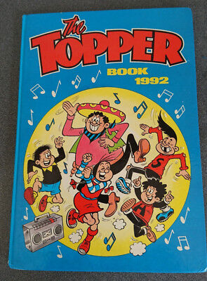 The Topper Book Annual 1992 in very good condition unclipped