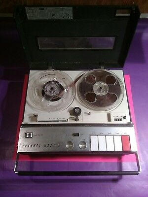 CHANNEL MASTER keynoter Model 6464 Reel-to-Reel player recorder Portable