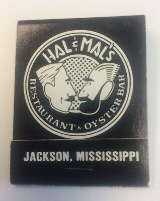 matchbook from Hal & Mal's restaurant and bar in Jackson, Mississippi