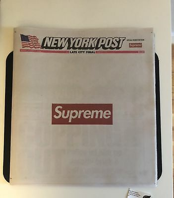 Brand New Supreme New York Times Newspaper Book Rare Limited One time only