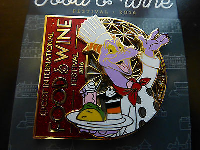 Disney Trading Pins  117704 WDW - Food & Wine Festival 2016: Figment Logo Pin