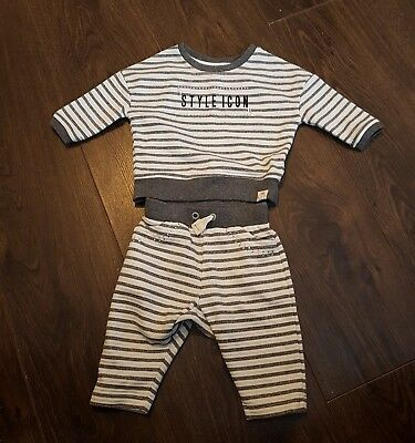 River Island baby girl tracksuit jumper trousers Style Icon 3-6 months ri