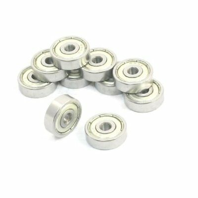 10 pcs 4 mm x 16 mm x 5 mm rangée simple profonde rainure radiale Roulement à...