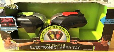 Sharper Image a Two-Player Electronic Laser Tag Game - NEW