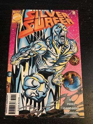 Silver Surfer#112 Incredible Condition 9.0(1996) George Perez Story