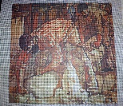 """Unused- Semco """"the Shearers"""" - Tapestry & Threads"""