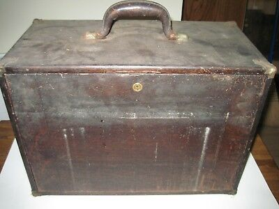 Vintage Wood Machinist 8 Drawer Tool Box From Union Tool Chest Works New York