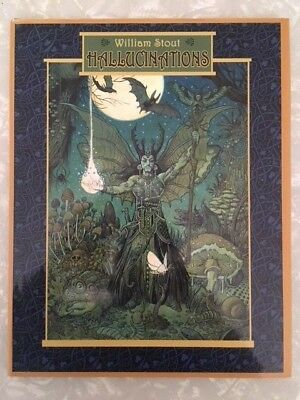 William Stout Hallucinations Sketchbook Hardcover Signed And Numbered 2010