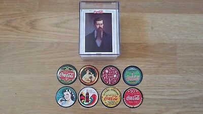 1993 The Coca Cola Collection Trading Card Set, Series 1 and Pog Cap Set, NEW