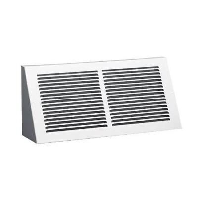 Hart and Cooley 043704 658-24X6W 24 inch x 6 inch Baseboard Return Air Grille