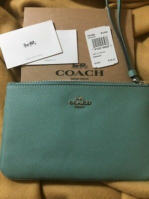 Coach Authentic Large Wristlet New With Tags!
