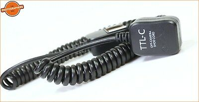 TTL-C Off Camera Shoe Cord for Canon Free UK Post