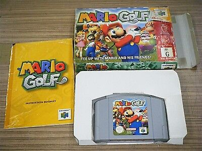 Boxed Nintendo 64 N64 Game - Mario Golf