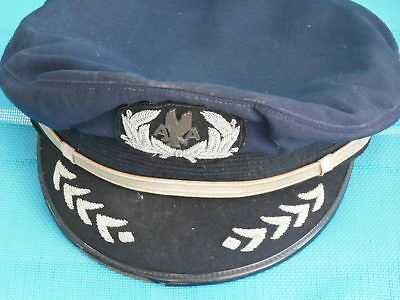 Early Captains American Airlines Silver Hat 31 Years Of Service 1936-1967
