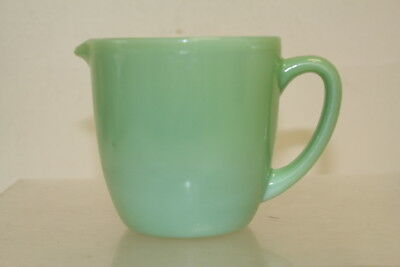 Vintage Fire King Green Jadeite Gravy Pouring Cup Pitcher