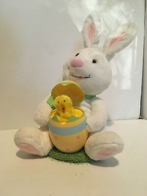 Hallmark Singing Easter Buddies • Rabbit And Chick • LN