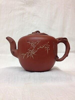 Chinese Yixing Clay Pottery Teapot Mid 20Th Handmade A3