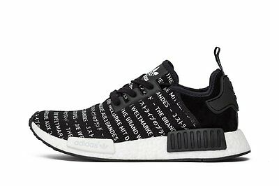 be90385e3be20 Adidas NMD R1 Blackout 3 Three Stripes Size 10. S76519 Yeezy Ultra Boost PK  12